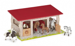 Wooden Horse Boxes